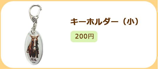 キーホルダー(小)200円